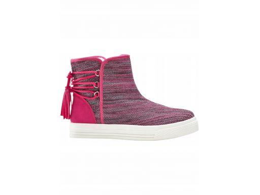*b.p.c zimowe buty z frędzlami 43