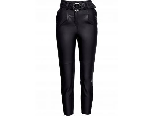 B.p.c spodnie czarne z eko skóry 36.