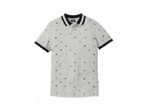 B.p.c koszulka polo z nadrukiem r.s