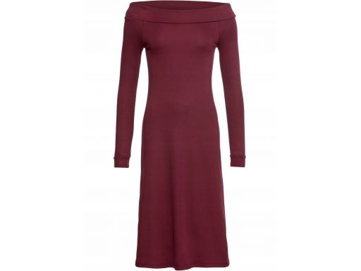 B.p.c sukienka bordowa 36/38.