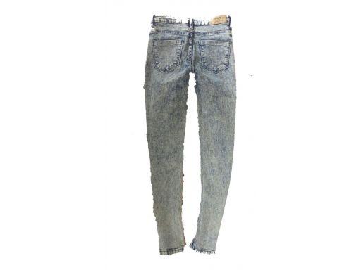 Cropp r.6/34 xs jeansy stan bdb rurki spodnie hit!