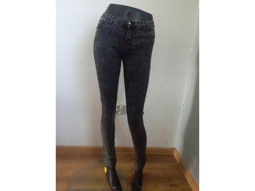 G66 r.8/36 s jeansy stan bdb rurki spodnie damskie