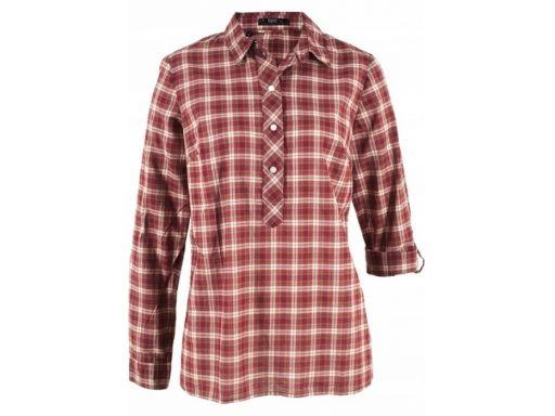 B.p.c ruda koszula w kratę r.48