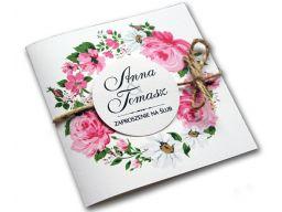 Zaproszenia ślubne na ślub zawiadomienia + koperta