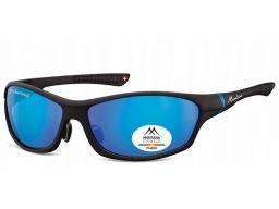Okulary męskie polaryzacyjne sportowe lustrzanki