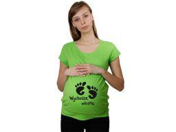 Koszulka mamuśki ciążowa z dowolnym nadrukiem xl