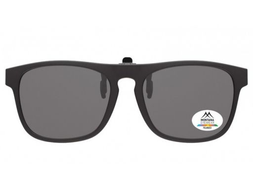 Nakładki polaryzacyjne okulary korekcyjne czarne