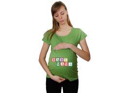Koszulka ciążowa mama koszula nadruk dziecko s