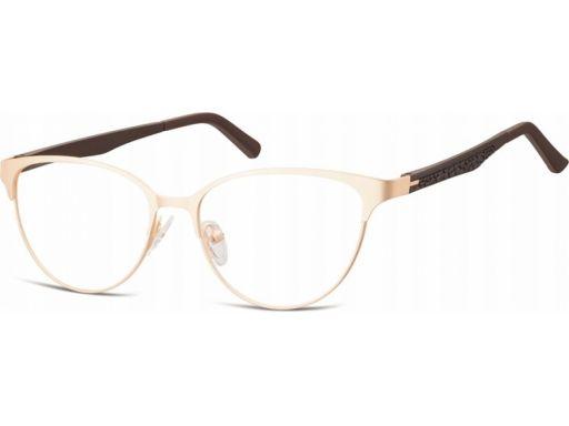 Zerówki okulary oprawki kocie giętki zausznik