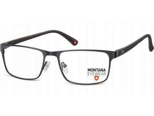 Prostokątne okulary oprawki korekcyjne uniseks