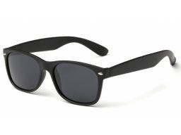 Okulary z polaryzacją unisex nerdy czarne matowe