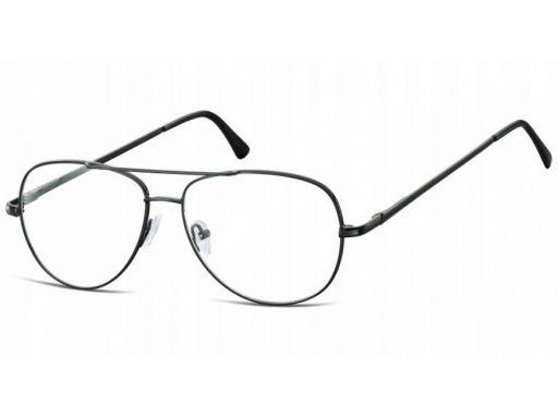 Oprawki pilotki aviator korekcyjne zerówki okulary