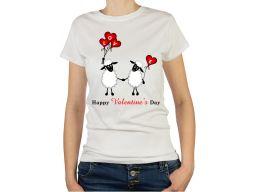 Koszulka dla dziewczyny love miłosne walentynki l