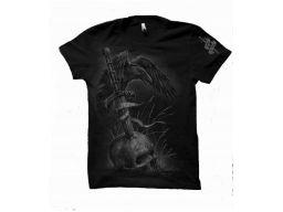 Koszulka męska zwycięstwo albo śmierć - czarna s
