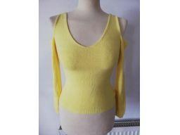 Stress r.8/36 s bluzka nowa odkryte ramiona żółta
