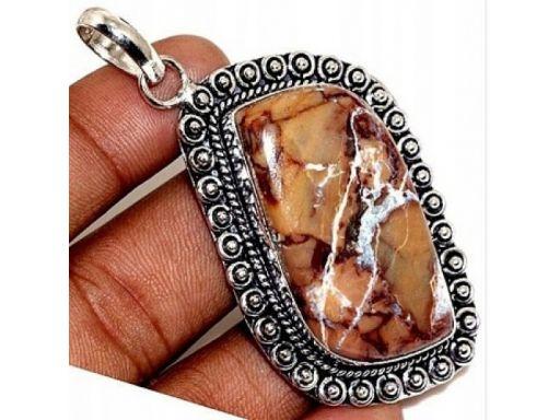 Lux art.zawieszka z kamienia srebro 925