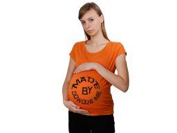 Koszulka ciążowa z nadrukiem piżama dla mamy xl