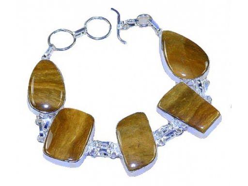 Lux art.bransoletka z kamieni srebro 925