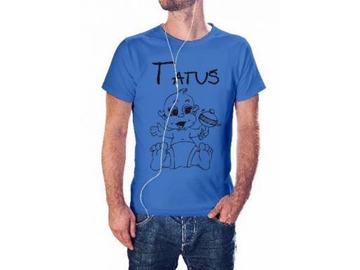 Koszulka z nadrukiem będę tatą najlepszy super l