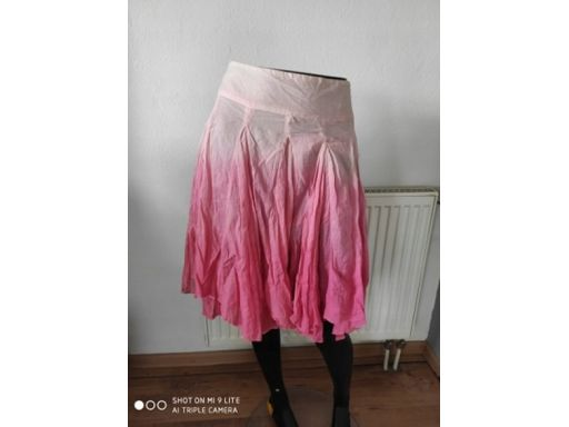 New look r.14/42 xl spódnica nowa ombre zamek hit!