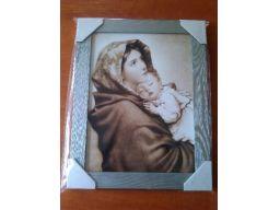 Obraz matka boska z dzieciątkiem duży grawer